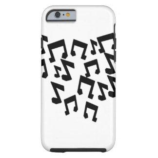 iPhone 6/6s Tough, Music Notes Tough iPhone 6 Case