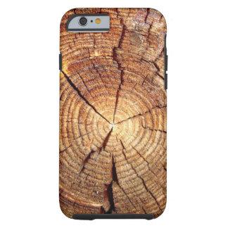 iPhone 6/6s, Tough Phone Case Wood