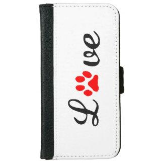 iPhone 6/6s Wallet Case love pets