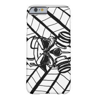 iPhone 6 Black&White Optical Illusion GasMask Case