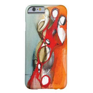 """iPhone 6 Case-""""3 Figures Off-Center"""" Barely There iPhone 6 Case"""