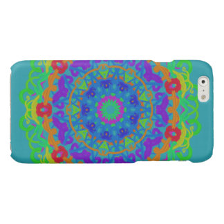 iPhone 6 case Aqua Kaleidoscope