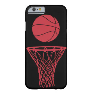 iPhone 6 case Basketball Silhouette Bulls Black Barely There iPhone 6 Case
