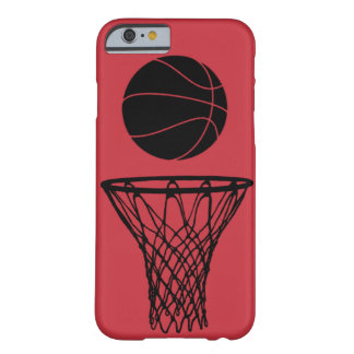 iPhone 6 case Basketball Silhouette Bulls Red Barely There iPhone 6 Case
