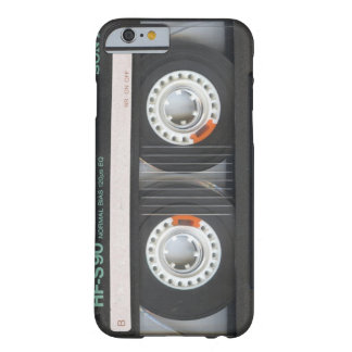 iPhone 6 case Black Retro Cassette Case Old School Barely There iPhone 6 Case