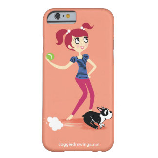 """iPhone 6 case: Boogie Loves All-Mighty """"Skipper"""" Barely There iPhone 6 Case"""