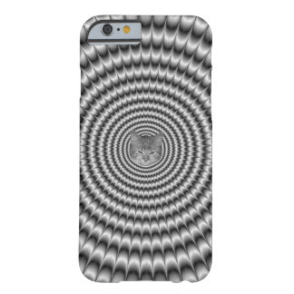 iPhone 6 Case  Circular Explosion in Silver