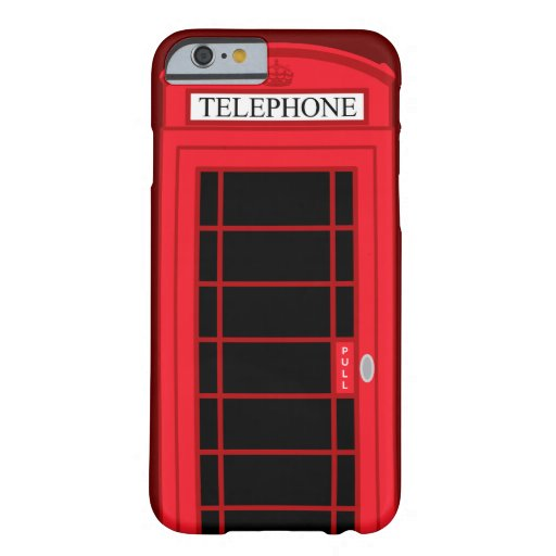 iPhone 6 case Classic Red Public Telephone Box UK