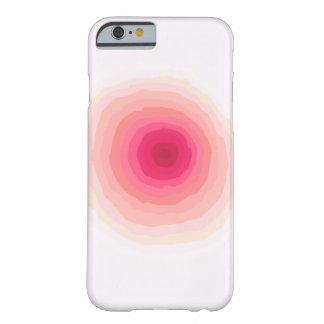 Iphone 6 case, faded circle barely there iPhone 6 case