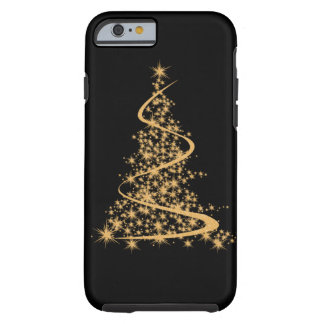 iPhone 6 case Glitzy Gold and Black