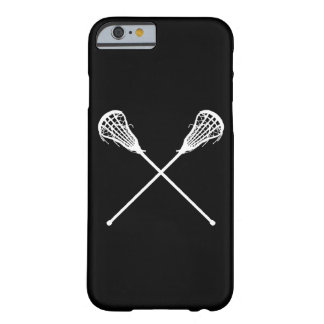 iPhone 6 case Lacrosse Sticks Black Barely There iPhone 6 Case