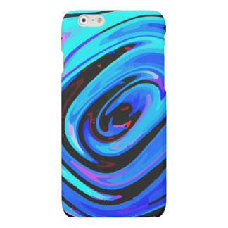 iPhone 6 Case Matte Finish Feeling Blue Design