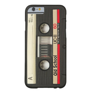 iPhone 6 case Old School Cassette Tape Cover Retro Barely There iPhone 6 Case