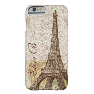 iPhone 6 Case Paris Eiffel Tower French Monogram