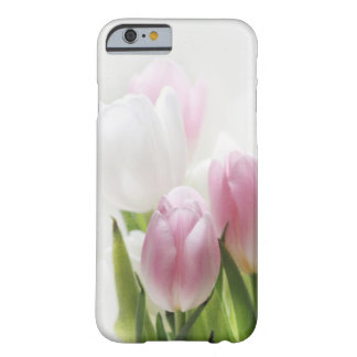 iPhone 6 case- pink and white tulips- case