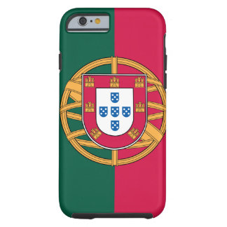 iPhone 6 case, Portuguese Flag Tough iPhone 6 Case