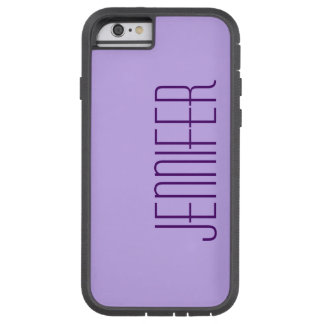 iPhone 6 Case, Purple, Personalized, Sturdy Tough Xtreme iPhone 6 Case