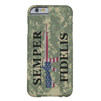 iPhone 6 case Semper Fidelis Green Camo Barely There iPhone 6 Case