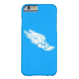 iPhone 6 case Track Logo White on Blue