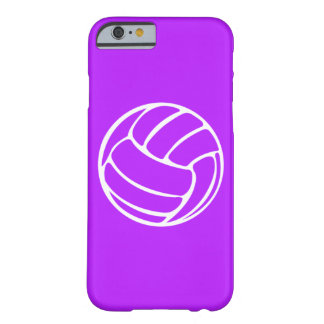 iPhone 6 case Volleyball White on Purple