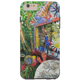 iPhone 6+ Case with Bowling Ball House Painting Tough iPhone 6 Plus Case