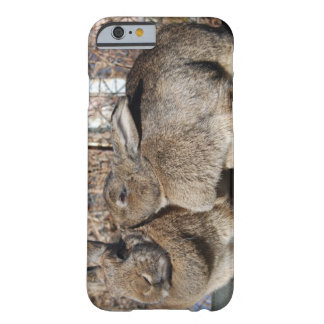 iPhone 6 case with bunnies smooching Barely There iPhone 6 Case