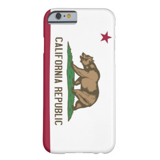 iPhone 6 case with Flag of California