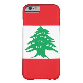 iPhone 6 case with Flag of Lebanon