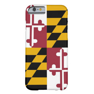 iPhone 6 case with Flag of Maryland
