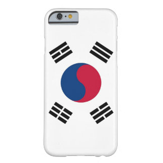 iPhone 6 case with Flag of South Korea