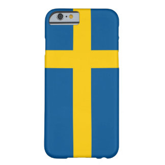 iPhone 6 case with Flag of Sweden
