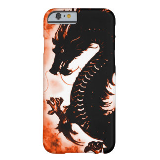 iPhone 6 Chinese Wood Dragon Fantasy Art Nouveau Barely There iPhone 6 Case