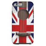 iPhone 6 de guitare acoustique d'Union Jack