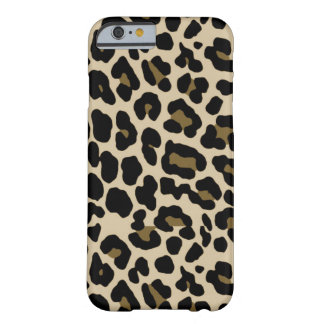 iPhone 6 Gold Cheetah Print Case