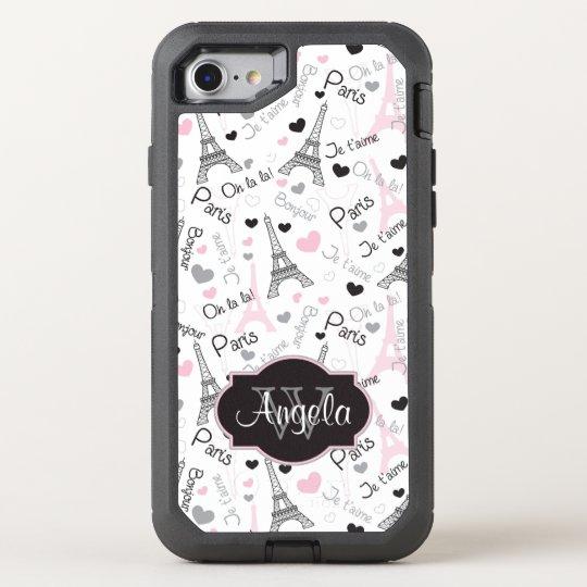 iPhone 6 | Paris | Eiffel Tower | Hearts