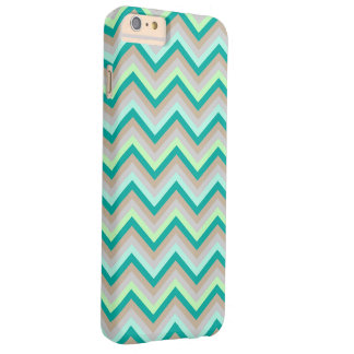 iPhone 6 Plus Case Barely Zig Zag Pattern