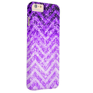 iPhone 6 Plus Case Barely Zig Zag Sparkley Texture