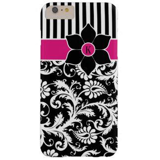iPhone 6 Plus Case   Damask   Stripes   Fuchsia