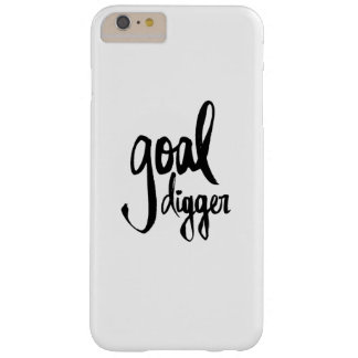 "iPhone 6 Plus Phone Case- ""Goal Digger"" Barely There iPhone 6 Plus Case"