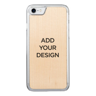 iPhone 6 Slim Maple Wood Carved iPhone 7 Case