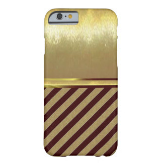 iPhone 6 Slim Shell Gold Design Case