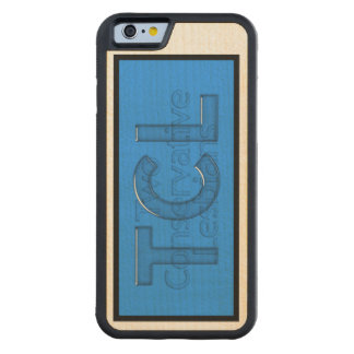 iPhone 6 TCL Wood/Blue Case
