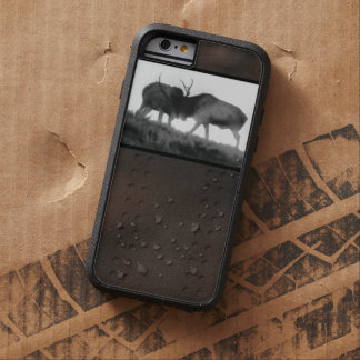 iPhone 6 Tough Case Two Bull Elk Fighting Tough Xtreme iPhone 6 Case