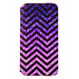 iPhone 6 Wallet Case Zig Zag Sparkley Texture Incipio Watson™ iPhone 6 Wallet Case