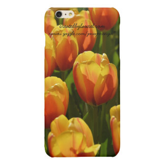 iPhone 6s Cell Phone Case Cover Orange Tulips