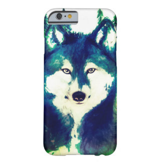 iphone 6s watercolor wolf phone cover