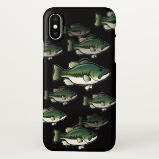 iPhone 7, 8 and X Bass Fishing Largemouth Case