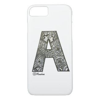 Iphone 7/8 casing with alphabet design iPhone 8/7 case