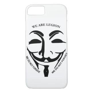 Iphone 7 Anonymous case