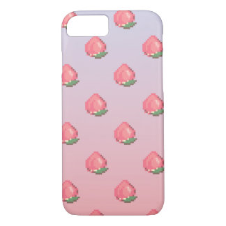 """iPhone 7 """"Barely There"""" Case - Pixel Peaches"""